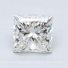 1.50-Carat Princess Diamond Very Good G VS1