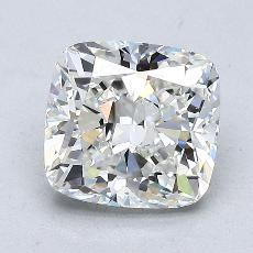 2,01 Carat Coussin Diamond Très bonne H VS1