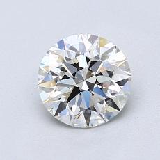 1,01 Carat Rond Diamond Idéale H VVS2