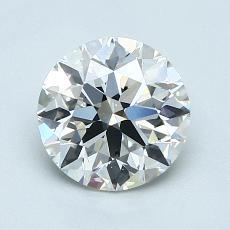1.20-Carat Round Diamond Ideal E VS1
