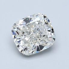 推薦鑽石 #1: 1.29 克拉墊形切割