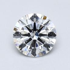 Recommended Stone #3: 0.91-Carat Round Cut