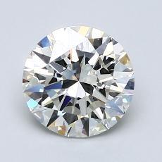 1.50-Carat Round Diamond Ideal I VVS1