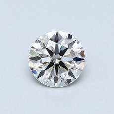 推薦鑽石 #3: 0.58  克拉圓形切割