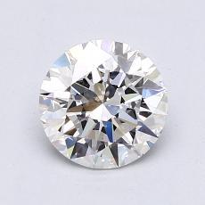 1.20 Carat 圆形 Diamond 理想 E VS2