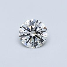 Recommended Stone #4: 0.38-Carat Round Cut