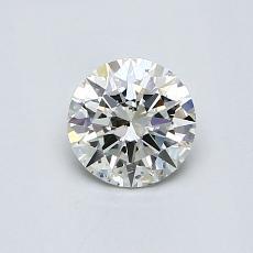 目前的寶石: 0.60  克拉圓形切割
