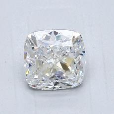 1.01 Carat 垫形 Diamond 非常好 D VS1