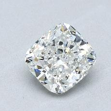 0.94-Carat Cushion Diamond Very Good H VS2