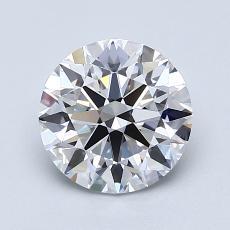 1.51 Carat 圓形 Diamond 理想 D VVS2