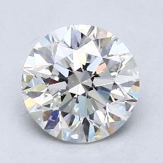 1.50-Carat Round Diamond Ideal G VVS2