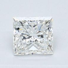 1.02 Carat 公主方形 Diamond 非常好 G VS2
