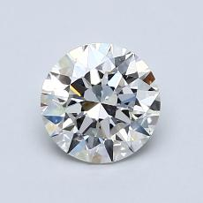 1.01 Carat 圆形 Diamond 理想 G VS2