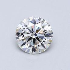 0.76 Carat 圓形 Diamond 理想 H VS2