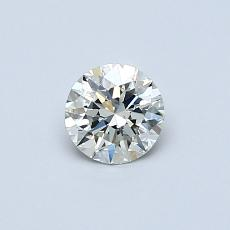 Recommended Stone #1: 0,40-Carat Round Cut