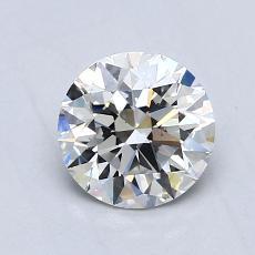 0.80-Carat Round Diamond Ideal H VS1