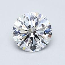 1.01 Carat Redondo Diamond Ideal D VVS2
