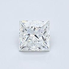 0.60 Carat プリンセス Diamond ベリーグッド G VVS2