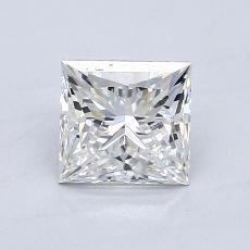 推荐宝石 2:0.90 克拉公主方形钻石