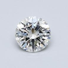 0,70-Carat Round Diamond Ideal H VS1