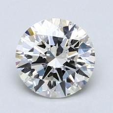 1.50 Carat 圓形 Diamond 理想 I VS1