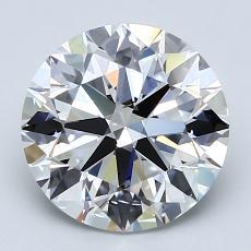 Current Stone: 2.64-Carat Round Cut