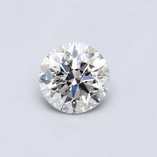 Recommended Stone #3: 0.48-Carat Round Cut