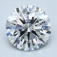 推薦鑽石 #2: 2.21  克拉圓形 Cut