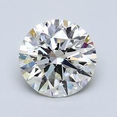 1.50-Carat Round Diamond Ideal H IF
