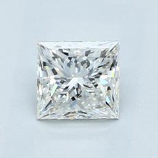 1.01 Carat 公主方形 Diamond 非常好 G VS1