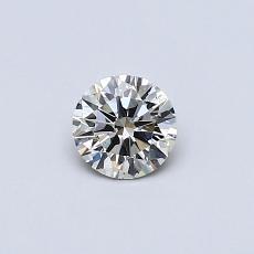 推荐宝石 2:0.33 克拉圆形切割