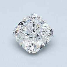 推薦鑽石 #1: 1.00 克拉墊形切割