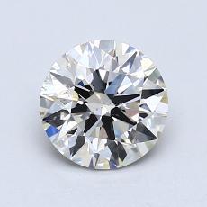 推荐宝石 4:1.12 克拉圆形切割