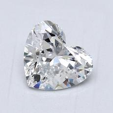 Recommended Stone #3: 1,01-Carat Heart Cut Diamond
