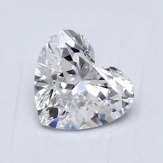 オススメの石No.3:1.01カラットのハートカットダイヤモンド