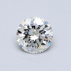 推荐宝石 3:0.70 克拉圆形切割