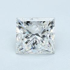 1.02 Carat Princesa Diamond Muy buena E VS1