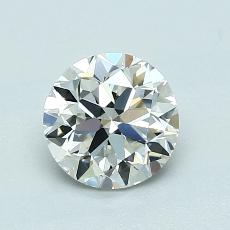 1.00 Carat 圆形 Diamond 非常好 H VS2