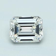 Recommended Stone #3: 0.88-Carat Emerald Cut Diamond