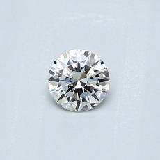 Recommended Stone #4: 0,23-Carat Round Cut Diamond
