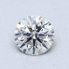0.82-Carat Round Diamond Ideal I SI1