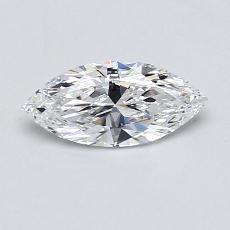 推薦鑽石 #2: 0.51 Carat Marquise Cut