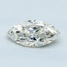 0.70-Carat Marquise Diamond Good J VS1