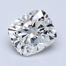 1.70-Carat Cushion Diamond Very Good F VVS2