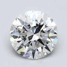 1.50 Carat ラウンド Diamond アイデアル I VVS2