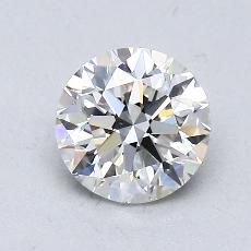 1.00-Carat Round Diamond Very Good G VVS2