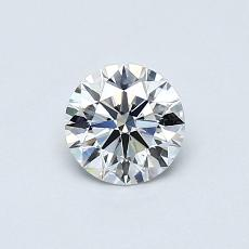 Recommended Stone #2: 0,50-Carat Round Cut Diamond