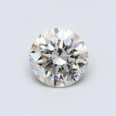 0.50 Carat 圓形 Diamond 理想 K SI2
