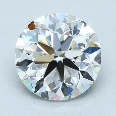 2.02-Carat Round Diamond Very Good G VS2