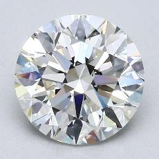 Recommended Stone #3: 2.62-Carat Round Cut